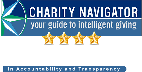 Charity Navigator – Your guide to intelligent giving. 100% rating in accountability and transparency.